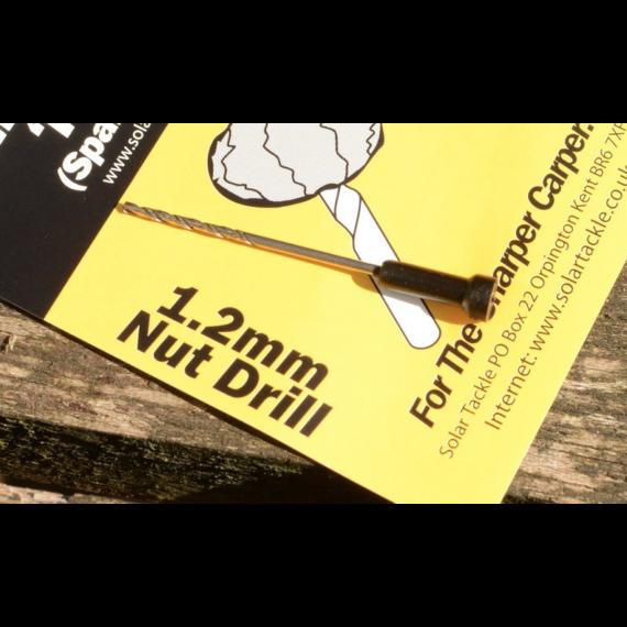 Solar Tackle Boilie Needle Spare Nut Drill 1,2MM - bojlifúró