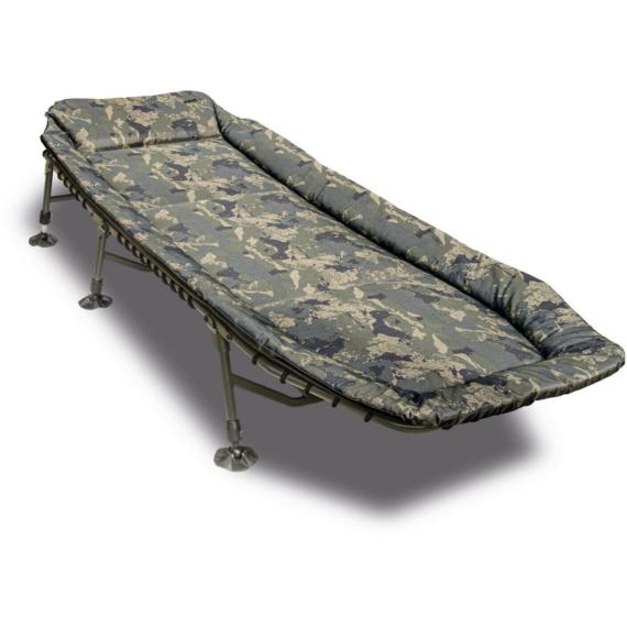 Solar Tackle Camo Undercover Bedchair - horgászágy