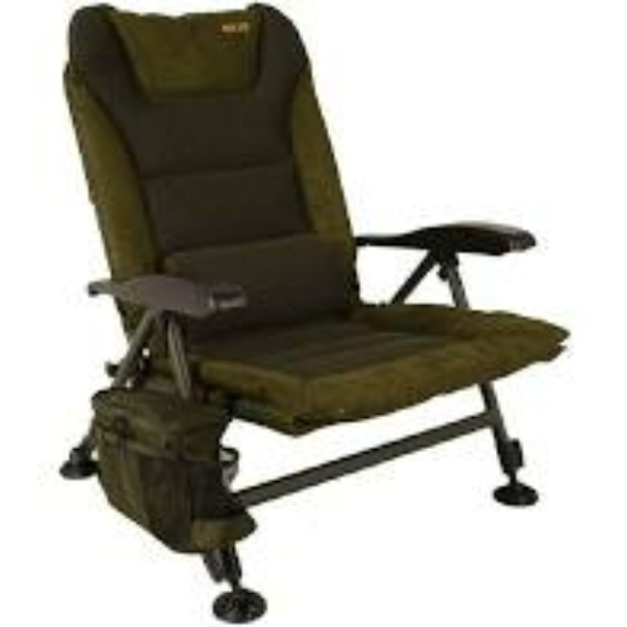 Solar Tackle SP C-Tech Recliner Chair High - magas háttámlás szék kis oldaltáskával