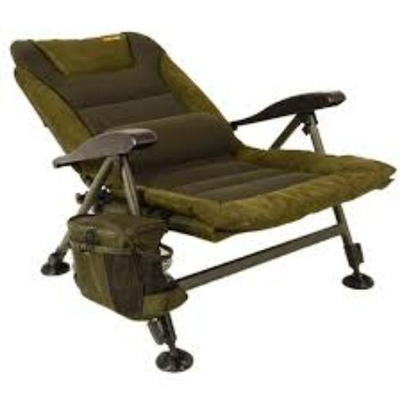 Solar Tackle SP C-Tech Recliner Chair Low - alacsony háttámlás szék kis oldaltáskával