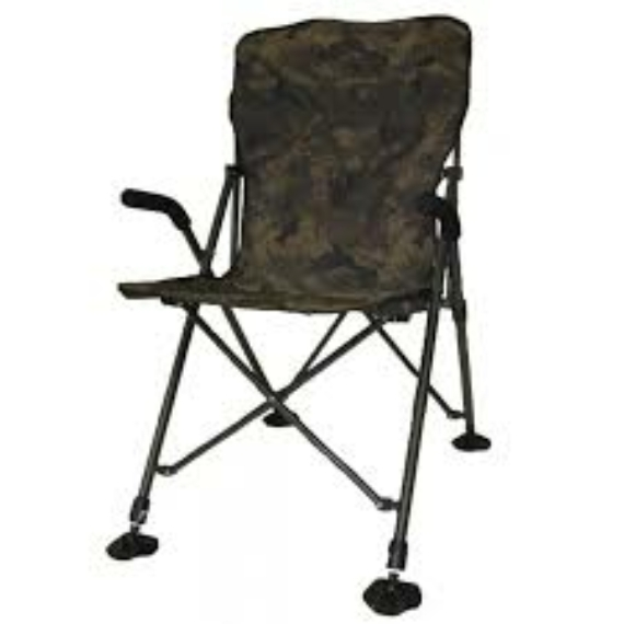 Solar Tackle Undercover Camo Easy Chair High - magasított könnyű kamo szék