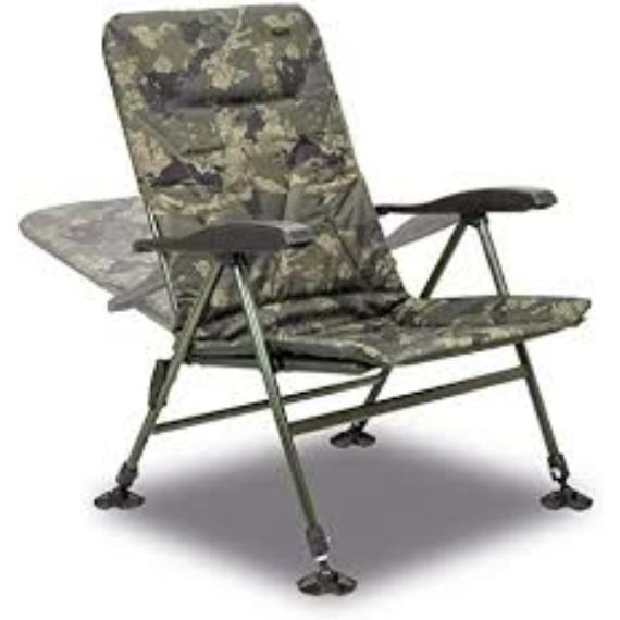 Solar Tackle Undercover Camo Recleiner Chair - karfás kamo szék
