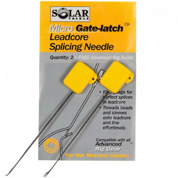 Solar Trackle Gate-Latch Leadcore Splicing Needle -  fűzőtű (mikro)