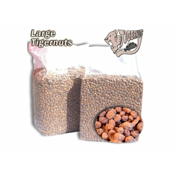 Large Tigernuts - tigrismogyoró zsugorfóliás 3kg, 5kg vagy 12,5 kg zsákokban (1.732 Ft/kg) 10-14mm-es méretben
