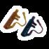 """Kép 1/3 - Carp'R'Us Snag Clip  - ólomkapocs előke 30lb, 90cm """"növényzet"""" vagy """"iszap"""" színben"""