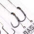 Kép 3/3 - Korda BASIX Ready Tied Hair Rigs Wide Gape 4/6/8 Barbed - hajszállal kötött mikro szakállas kész horogelőkék 4, 6, 8-as Wide Gape horoggal