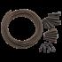 Kép 3/4 - Korda BASIX Lead Clip Action Pack - ólomklipsz gubancgátlóval QC forgóval 5 db-os szett