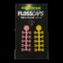 """Kép 1/2 - Korda Floss Caps Pink/Yellow - bojli stopper """"pink/sárga"""" színben"""