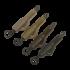 """Kép 2/2 - Korda Hybrid Lead Clip Gravel - ólomklipsz """"sóder"""" színben"""