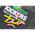 Kép 1/4 - Korda Kickers Yellow/Pink Size L - horogbefordító sárga/pink L-es méret