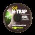 Kép 2/3 - Korda N-Trap Soft Hooklink  15-20-30 lb - előkezsinór Gravel(sóder) , Green (zöld) , Silt (iszap) színben ,20 méter