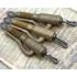"""Kép 2/2 - Korda Hybrid Lead Clip QC Gravel/Clay - ólomklipsz gyorscselélő forgóval """"sóder"""" barna színben"""