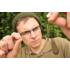 """Kép 3/3 - Korda Leadcore Leaders Hybrid Lead Clip Weed/Silt - 3 db leadcore gubancgátló hibrid ólomklisszel gyűrűvel ellátott forgó kapoccsal """"növényzet"""" színben"""