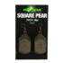 Kép 1/2 - Korda Square Pear Swivel Blister 3,5 - 5  oz - ólom 2db / 98 -140  gramm